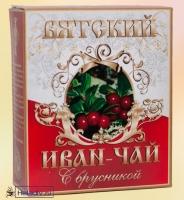 """Иван-чай Вятский """"С Брусникой"""" гранулированный 100 г"""