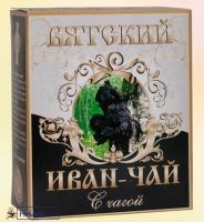 """Иван-чай Вятский """"С Чагой"""" гранулированный, березовый гриб 100 г"""