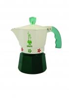 Гейзерная кофеварка Bialetti Moka Fiori (на 3 чашки)