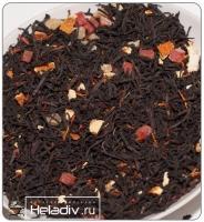"""Чай TEA-CO """"Сладкий апельсин"""" черный Цейлонский с апельсином, папайей и сафлором"""