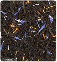 """Чай TEA-CO """"Граф Орлов"""" чёрный Цейлонский с малиной, васильком, сафлор и абрикосом"""