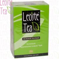 "Чай LEOSTE Green Curls ""Зелёные кольца"" зелёный Цейлонский без добавок 100 г"