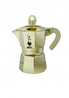 Гейзерная кофеварка Bialetti Moka Glossy серая (на 3 чашки)