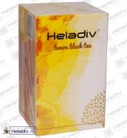 """Чай Heladiv """"LEMON Black Tea in Sachet"""" чёрный с лимоном в Саше 25 пакетов x 2 г"""