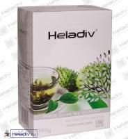 """Чай Heladiv """"GREEN TEA SOURSOP"""" зеленый Цейлонский (картон) с ароматом Саусепа"""