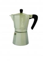 "Гейзерная кофеварка Bialetti ""Allegra"" серебряная на 6 чашек"