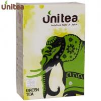 """Чай UNITEA """"Green Tea"""" зелёный высокогорный Pekoe без добавок"""