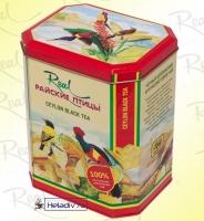 """Чай Real """"Райские Птицы"""" чёрный O.P.A. крупнолистовой Цейлонский, в жестяной банке 250 г"""