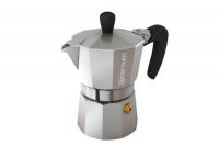 Гейзерная кофеварка Bialetti Allegra серебряная на 3 чашки