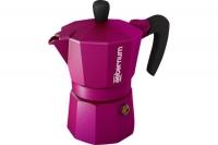 Гейзерная кофеварка Bialetti Allegra пурпурная на 3 чашки