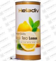 """Чай Heladiv """"Lemon"""" черный с лимоном (туба) 100 г"""