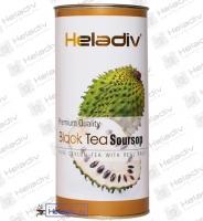"""Чай Heladiv """"Black Tea Soursop"""" черный с Сау-сэпом (туба) 100 г"""