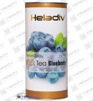 """Чай Heladiv """"blueberry"""" черный с ароматом голубики (туба) 100 г"""
