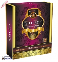 """Чай Williams """"Ceylon Sunrise"""" """"Цейлонский Рассвет"""" черный Цейлонский высокогорный (high grow) 100 пакетиков по 1,5г"""