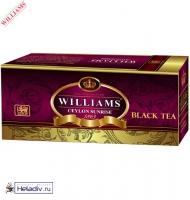 """Чай WILLIAMS """"Ceylon Sunrise"""" """"Цейлонский Рассвет"""" черный Цейлонский высокогорный (high grow) 25 пакетиков по 1,5г"""
