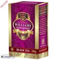 "Чай WILLIAMS ""English Breakfast"" ""Английский завтрак"" черный Цейлонский (картон) 200 г"