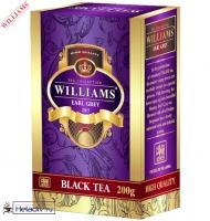 "Чай WILLAMS ""Earl Grey"" ""Эрл Грей"" черный Цейлонский ст. Pekoe (картон) с бергамотом"