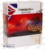 """Чай Heladiv """"ENGLISH Breakfast Black Tea"""" """"Английский завтрак"""" чёрный высокогорный 100 пакетов x 2 г"""