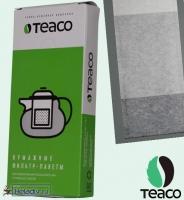 Фильтр-пакеты TEA-CO для насыпного чая из тонкой пористой бумаги:`в уп. 100 шт