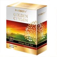 """Чай Heladiv """"GOLDEN CEYLON Vintage Black"""" черный Цейлонский высокогорный в пакетиках 100 пакетов х 2 г"""