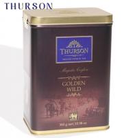 """Чай THURSON """"GOLDEN WILD Magestic Ceylon"""" """"Золотое Наследие"""" чёрный OPA крупнолистовой в ж/б 300 г"""