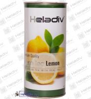 """Чай Heladiv """"Green Tea Lemon"""" зеленый Цейлонский с лимоном (туба) 100 г"""