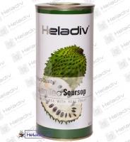 """Чай Heladiv """"Green Tea Soursop"""" зелёный чай с Саусепом (туба) 100 г"""