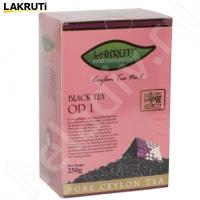 Чай LAKRUTI OP 1. чёрный элитный Цейлонский байховый 250 г