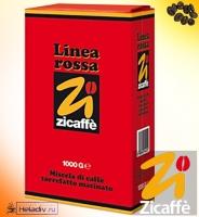 "Кофе Zicaffe ""LINEA ROSSA"" молотый 1000 г"