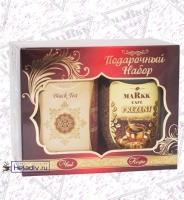 Подарочный набор MARKK Чай ASSAM ACCAM 100 г + кофе растворимый 95 г