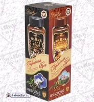 """Подарочный набор Markk """"Гармония вкуса"""" кофе 95 г + чай 100 г"""