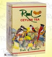 """Чай Real """"Райские Птицы"""" """"Birds of paradise"""" чёрный O.P.A. Цейлонский крупнолистовой"""