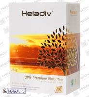 "Чай Heladiv ""O.P.A."" чёрный Цейлонский (nd) крупнолистовой байховый"