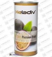 """Чай Heladiv """"Black Tea Passion Fruit"""" черный Цейлонский с ароматом маракуйи (туба) 100 г"""