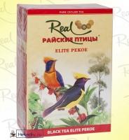 """Чай Real """"Райские Птицы"""" """"Elite Pekoe"""" чёрный Цейлонский элитный Пеко среднелистовой"""