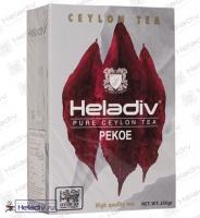 """Чай Heladiv """"Pekoe"""" (od) чёрный среднелистовой Цейлонский Пеко в классическом дизайне"""