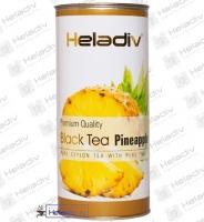 """Чай Heladiv """"Black Tea Pineapple"""" черный Цейлонский с ананасом (туба) 100 г"""