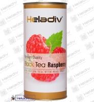 """Чай Heladiv """"Black Tea Raspberry"""" черный Цейлонский с малиной (туба) 100 г"""