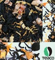 """Чай TEA-CO """"Сочный персик"""" черный Цейлонский, персик с папайей, изюмом и календулой"""