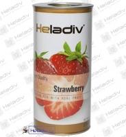 """Чай Heladiv """"Black Tea Strawberry"""" черный с клубникой (туба) 100 г"""