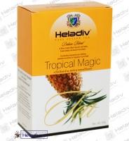 """Чай Heladiv """"Black Tea Tropical Magic"""" FBOP чёрный (картон) с травами, цветами, Саусепом и Ананасом"""