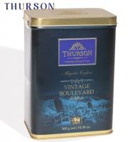 """Чай THURSON """"VINTAGE BOULEVARD Magestic Ceylon"""" """"Вековое Наследие"""" чёрный PEKOE скрученный среднелистовой в ж/б 300 г"""