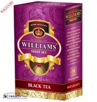 """Чай WILLIAMS """"Violet Sky"""" чёрный Цейлонский с множеством добавок 100 г"""