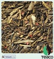 """Чай TEA-CO """"Земляника со сливками"""" зеленый Китайский, Сенча с земляникой и чёрной смородиной"""