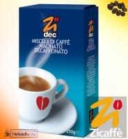 "Кофе Zicaffe ""ZIDEC"" молотый, без кофеина 250 г"