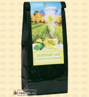 "Фито-чай ""Зеленый чай с Гинкго и Стевией"" (от Гарбузова Г. А.) 100 г"