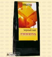 """Фито-чай """"Чёрный чай с Гинкго"""" (от Гарбузова Г. А.) 100 г"""