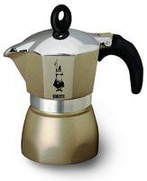 """Гейзерная кофеварка Bialetti """"Dama Glamour"""" на 3 чашки, перламутровая"""