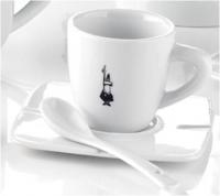 """Кофейная чашка Bialetti """"espresso"""" с ложечкой"""