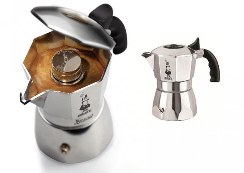 Гейзерная кофеварка bialetti brikka эспрессо
